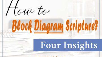 Block Diagram Scripture